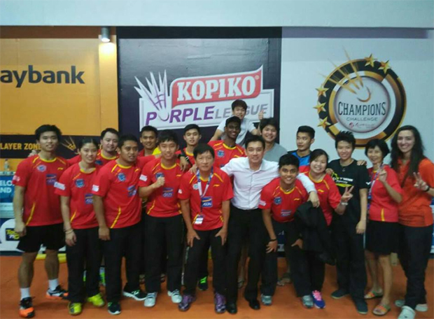 Purple League: Kajang BC finally get first win