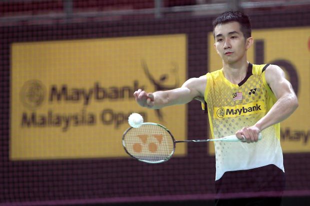 Chong Wei Feng in training recently. He hopes for a breakthrough this year after a disappointing 2013.
