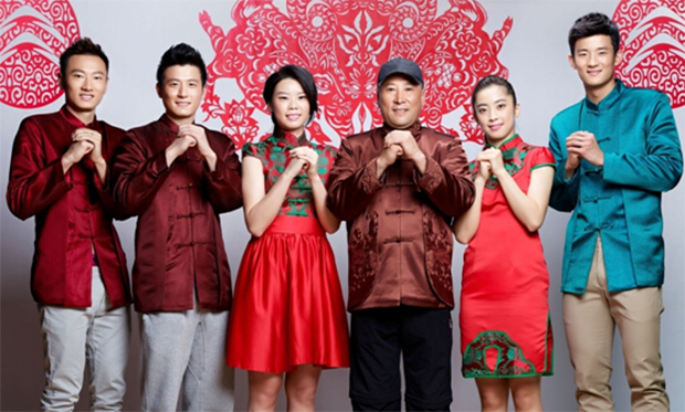 Chinese New Year greetings from the China national badminton team