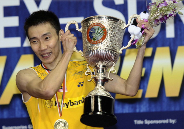 No three-peat for Lee Chong Wei at India Open