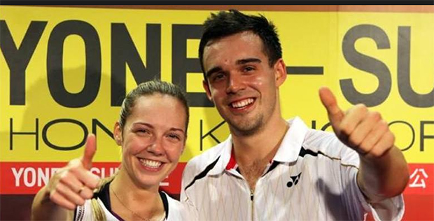 Chris and Gabby Adcock to spearhead England's challenge at German Open