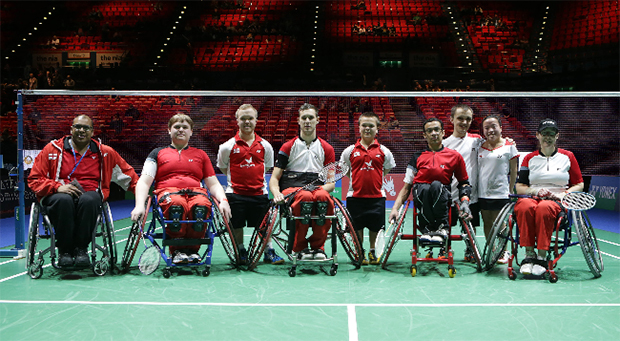 BWF to run 2015 World Para-Badminton Championships in England