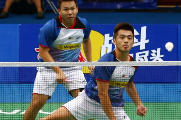 No progress. Malaysia's Hoon Thien How-Tan Wee Kiong cannot seem to make a breakthrough in Super Series tournaments, prompting questions whether they should be split up.