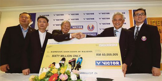BAM sign with Taiwan's Victor in RM60m deal