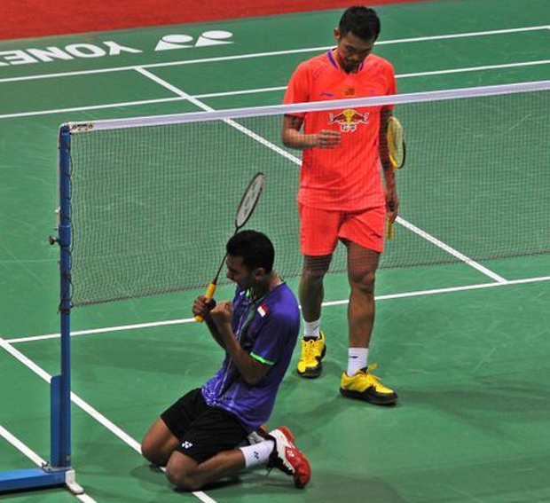 Tommy Sugiarto shocks Lin Dan to reach India Open semis