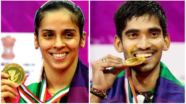 Saina Nehwal, Kidambi Srikanth win maiden India Open Super Series