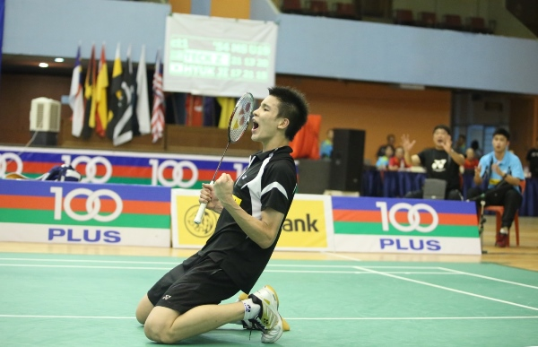 Teck Zhi strive to be the next Chong Wei