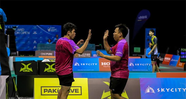 New Zealand Open: Hoon Thien How-Lim Khim Wah reach semis