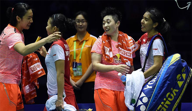 China beat Indonesia 3-1, reach Sudirman Cup final