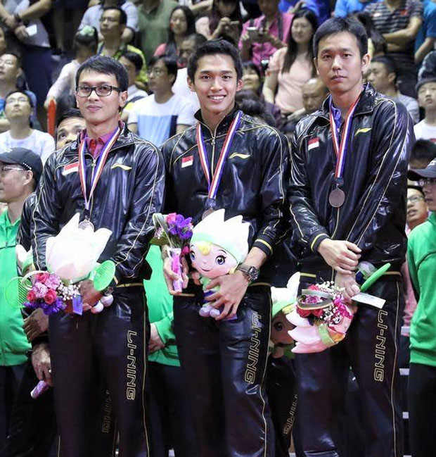 Indonesia eyeing two titles at 2015 World Championships