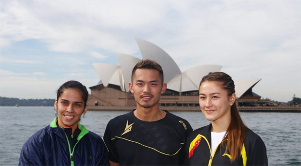 Lin Dan, Saina Nehwal aim to defend Australian Open Title