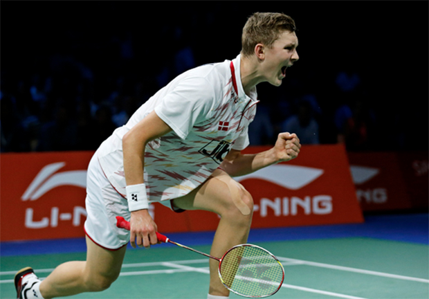 Viktor Axelsen beat Lin Dan at Round 1 of Australian Open