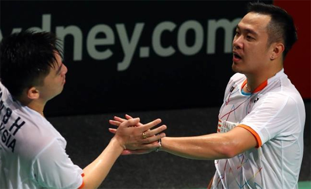 Koo Kien Keat/Tan Boon Heong earn respect despite loss in Australian Open