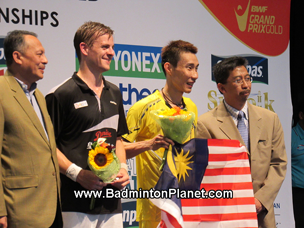 Lee Chong Wei beats Hans-Kristian Vittinghus to lift US Open title