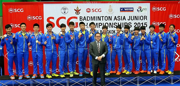 China beat Korea to lift Asia Junior Championship mixed team gold