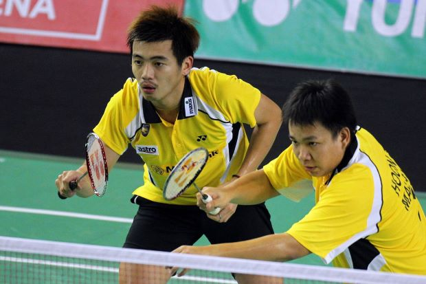 Hoon Thien How (right) and Tan Wee Kiong are seeded 11th for the World Championships at Guangzhou.