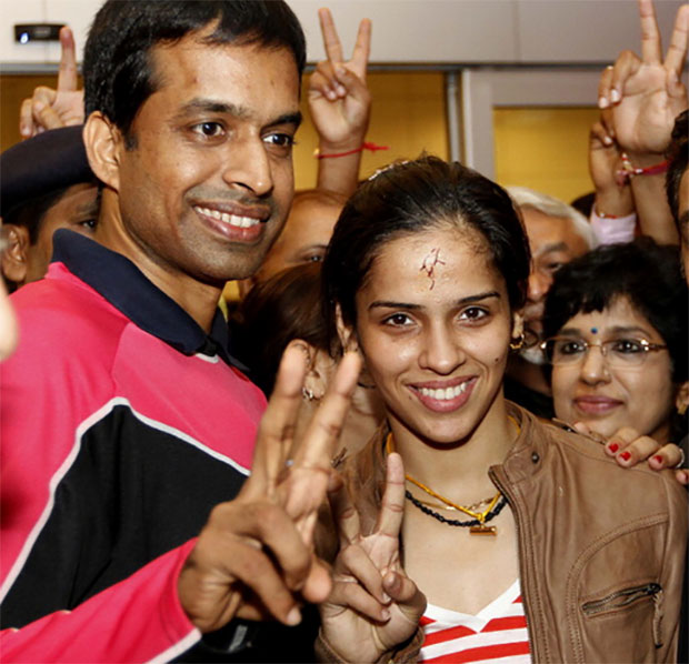 Pullela Gopichand feels happy for Saina Nehwal