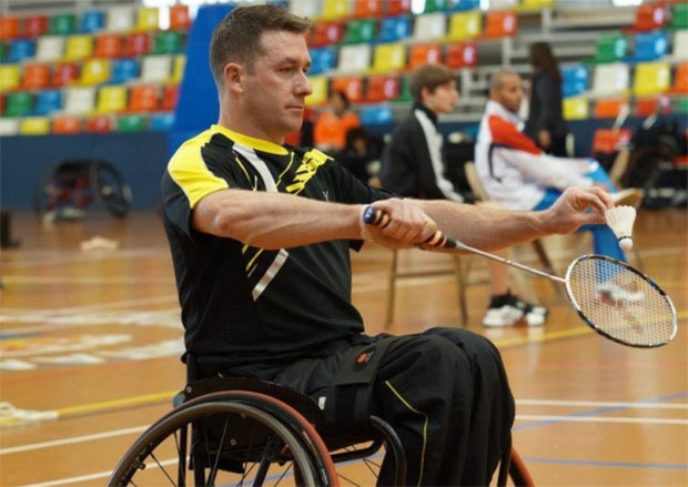 England win golds at 4 Nations Championships Para-Badminton