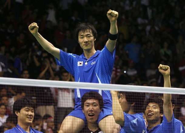 Lee Hyun-il plays in 2014 Incheon Asian Games