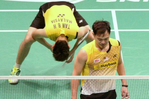 Koo Kien Keat-Tan Boon Heong need to reach the final of the World Championships but their future as a pair are still not guaranteed.