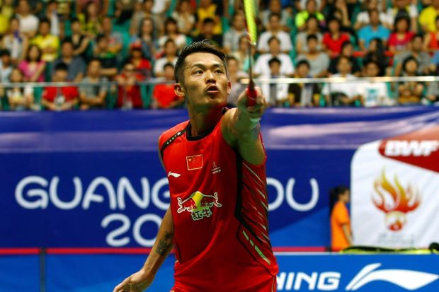 Lin Dan is well on course for his fifth world title.