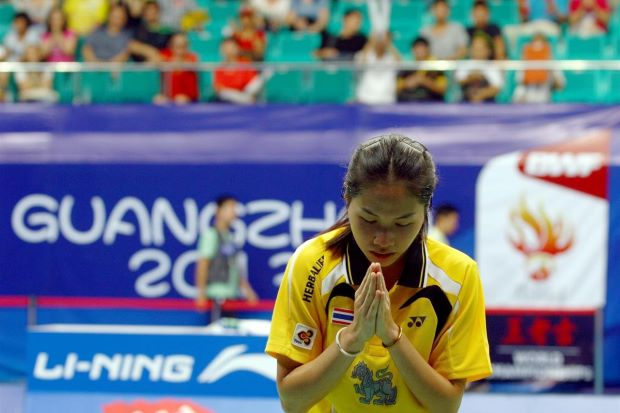 Ratchanok Intanon created history by becoming the first Thai woman to make the final of the world meet.