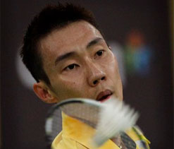 Lee Chong Wei Won first Round on World Championship at Guang Zhou