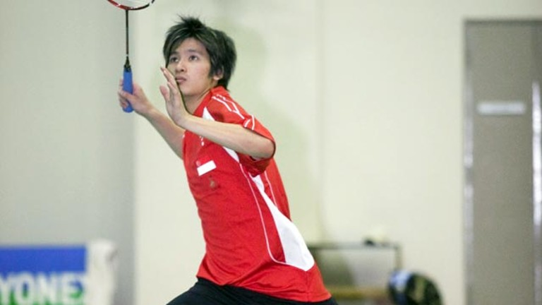 Badminton Player from Singapore - Derek Wong