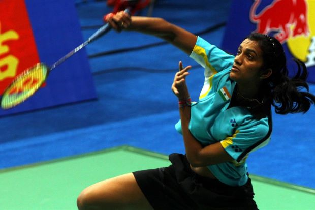 India's P.V.Sindhu is a rising star having already defeated two China players en route to making the semi-finals of the World Championships.