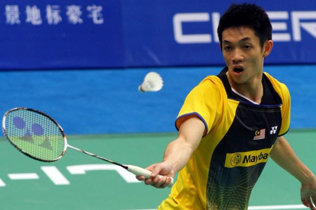 Liew Daren was beaten in the third round by world No.2 Chen Long of China.