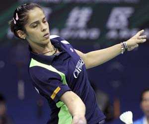 Touted as the biggest match of the day, the clash between Saina and Sindhu turned out to a one-sided affair as the London Olympics bronze medallist showed why she is considered the badminton queen of India as she beat her junior rival 21-19 21-8 in the second match of the opening rubber.