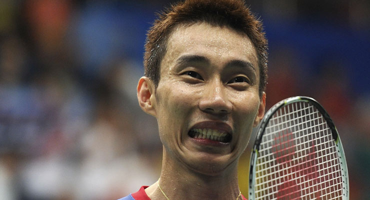 Lee Chong Wei Playing in Indian Badminton League