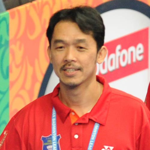 Rashid Sidek coaches Krrish Delhi Smashers in Indian Badminton League