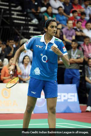 Awadhe Warriors, led by star shuttler P V Sindhu