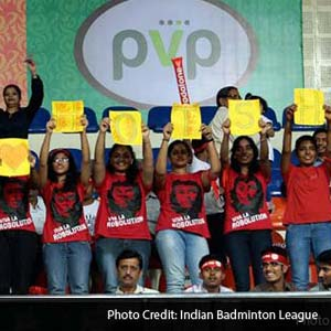 Fans of Hyderabad Hotshots
