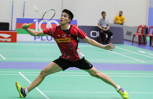 Daren Liew, Soo Teck Zhi, Tan Chun Seang, Tee Jing Yi roll at Indonesia International Challenge