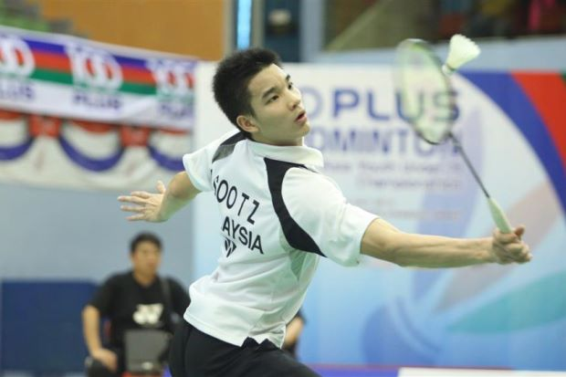 Soo Teck Zhi is seeded first in the Maybank International Youth Under-19 badminton championships boys' singles event.