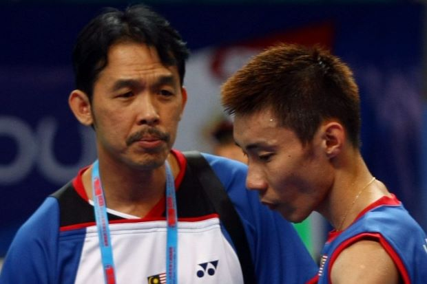 Rashid Sidek, seen her with Lee Chong Wei (right), has decided to quit the BAM training programme.