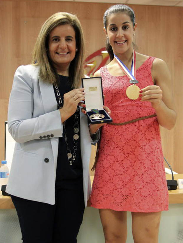 Carolina Marin Receives Sport Merit Royal Order