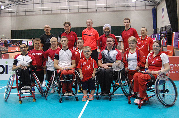 England Para-Badminton squad get ready for Euros