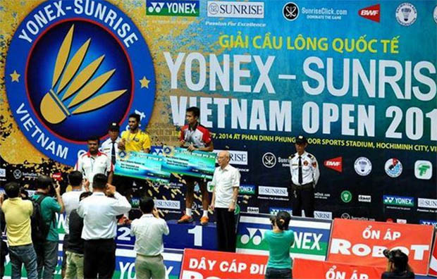 Indonesia bags 4 titles at Vietnam Open GP