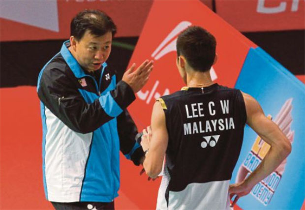 Eyes on BAM for Lee Chong Wei's new coach