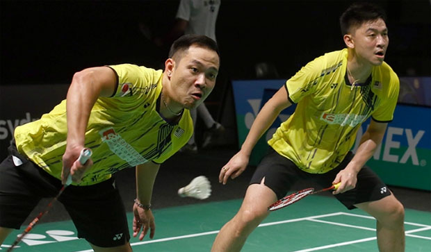 Koo Kien Keat/Tan Boon Heong, Iskandar in Dutch Open quarters
