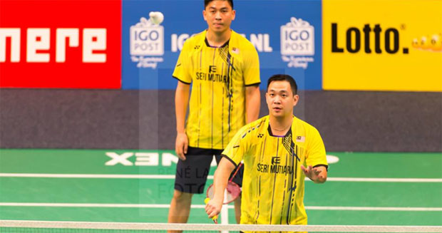 Goh Soon Huat, Koo Kien Keat/Tan Boon Heong hold off gallant opponents to reach Dutch Open semis