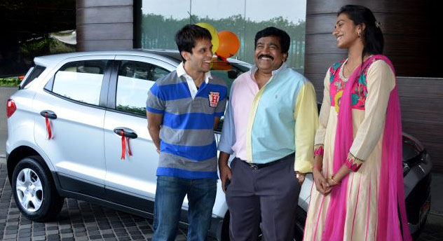 P. Kashyap, P.V. Sindhu rewarded with cars