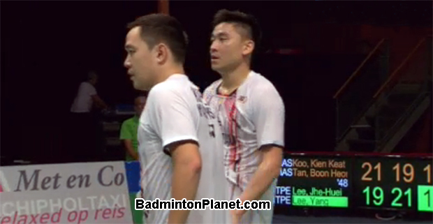 Stoeva sisters, Koo Kien Keat/Tan Boon Heong battle into Dutch Open finals