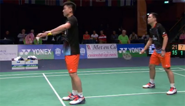 Koo Kien Keat/Tan Boon Heong, Stoeva sisters win Dutch Open