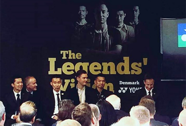 Lin Dan, Lee Chong Wei, Taufik Hidayat, Peter Gade bring the fun to Legends' Vision in Copenhagen