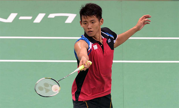 Chou Tien Chen vs Wang Zhengming in French Open men's final