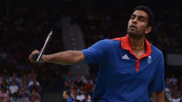 Ouseph was knocked out of the London 2012 men's singles by Kevin Cordon of Guatemala